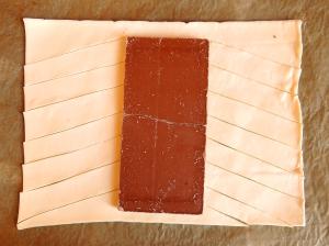 ciasto francuskie z czekoladą 2