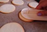 wygładzanie ciasteczek po upieczeniu