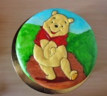 kubuś puchatek tort