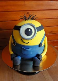 Minionki tort