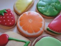 owocki pomarańcza - ciasteczka maślane