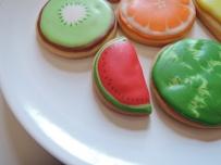 owocki arbuz - ciasteczka maślane
