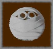 """babeczki mumie-limonkowe z """"lime curd"""""""