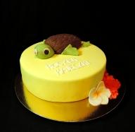 tort z żółwikiem