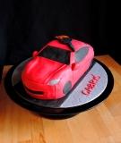 """Dieci mają najciekawsze pomysły na torty: """"czerwony samochód z gitarą na dachu"""""""